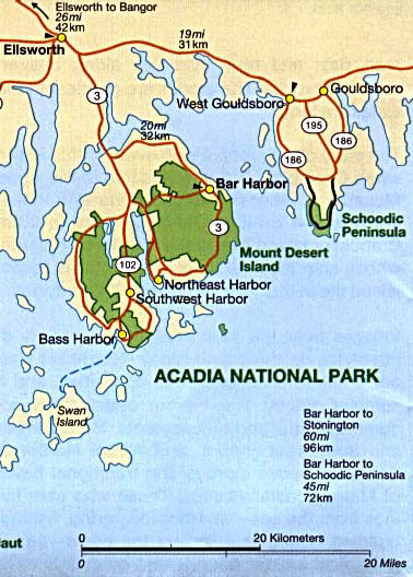 Acadia National Park & Vicinity