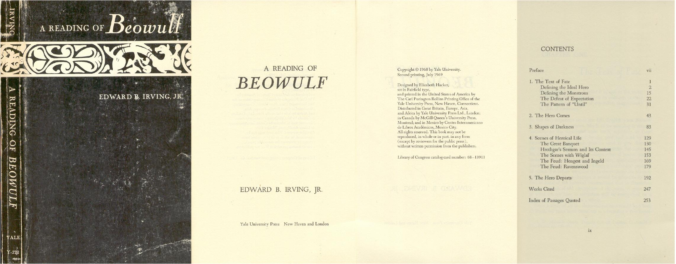 a comparison of beowulf and j f kennedy as heroes This paper will compare and contrast the medieval germanic hero beowulf with  the classical greek hero achilles (of homer's iliad), and show.