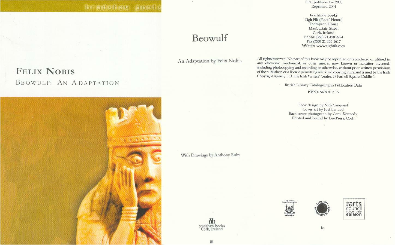 Beowulftranslations Net Translations By Felix Nobis 2000 border=