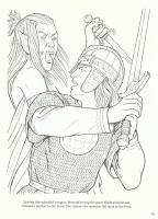 Beowulf Dragon Drawing Sketch Coloring Page Beowulf Coloring Pages