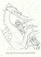 The dragon (Beowulf)