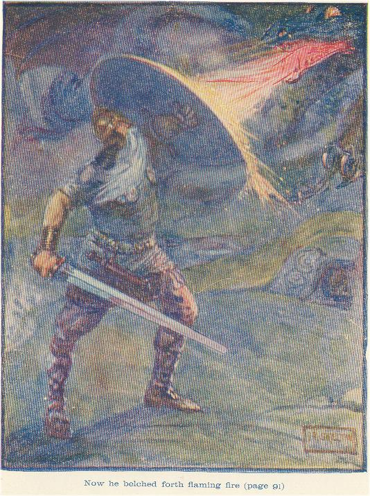 a literary analysis of heroic qualities of beowulf How to write literary analysis and establishes him fully as a hero in first part of the poem, beowulf matures little, as he possesses heroic qualities in.