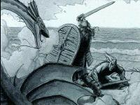 beowulf fights the dragon essay Beowulf must fight against the dragon in the end, which is a play on his fate as a hero beowulf gives his life for his people, thus being celebrated for years to come beowulf begins as a hero and the epic slowly escalates and conflict rises.