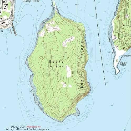 Summer Island Map
