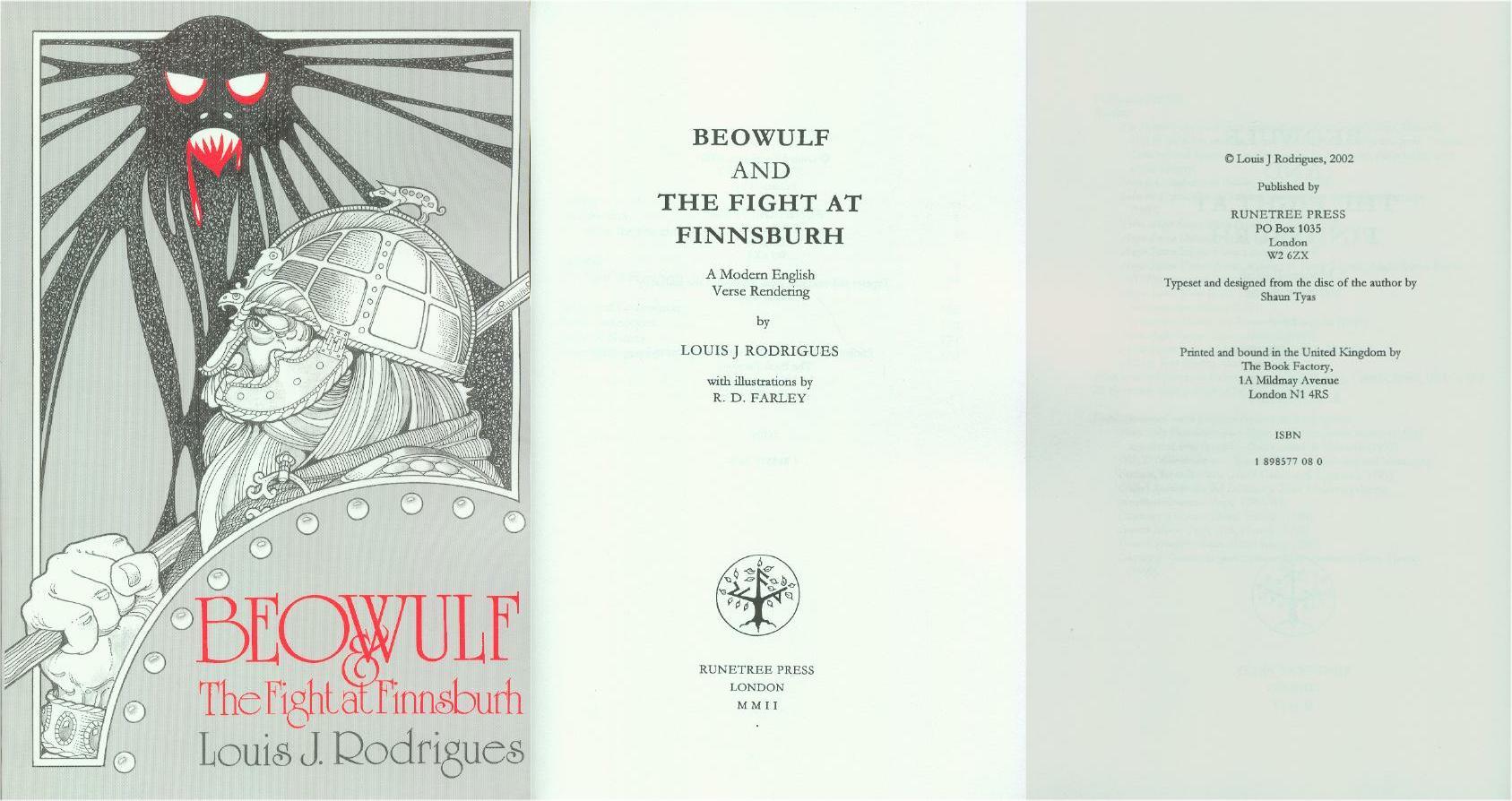 Beowulftranslations Net Translations By Louis J border=
